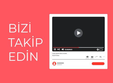 Youtube'da Takip Edin