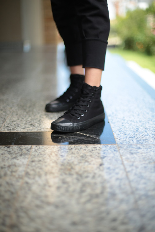 Kadın Ayakkabı - Kömür Uzun