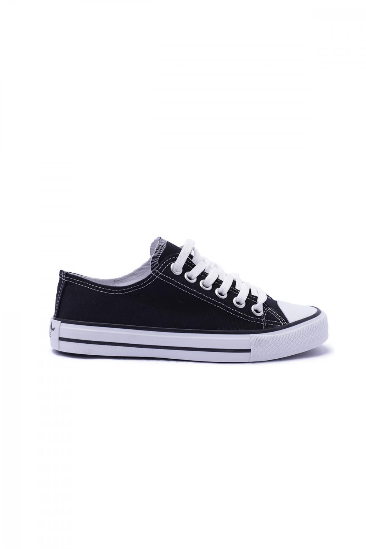 Siyah-Beyaz Unisex Spor Ayakkabı