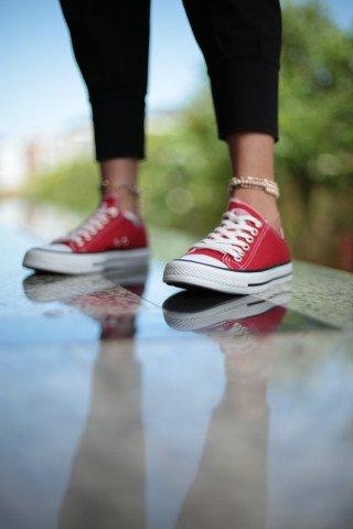 Erkek Ayakkabı - KIRMIZI