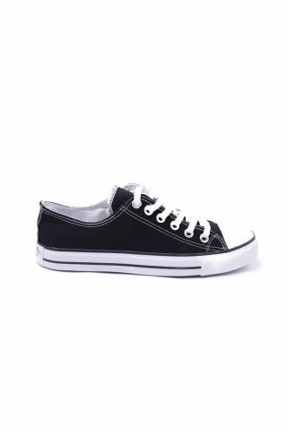 Erkek Ayakkabı - Siyah&Beyaz