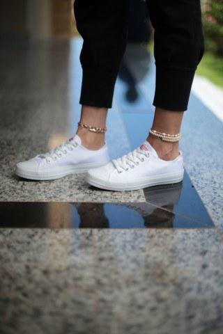 Erkek Ayakkabı - TAM BEYAZ