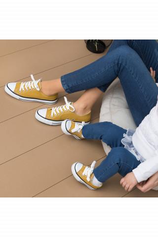 Hardal Keten Unisex Sneaker (20-44)