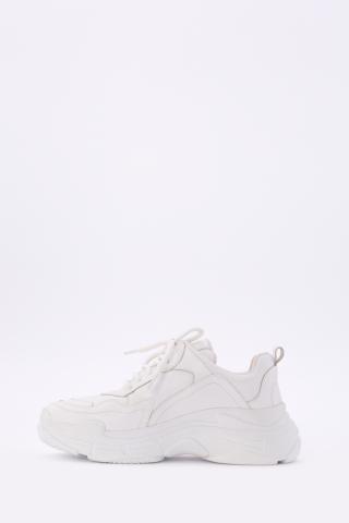 Kadın Beyaz Cilt Spor Ayakkabı