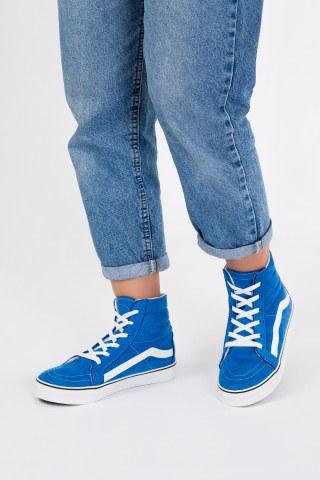 Süet Unisex Uzun Sneaker