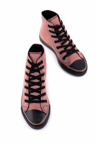 Süet Uzun Spor Ayakkabı