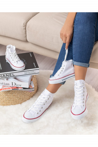 Unisex Bebek Uzun Spor Ayakkabı Roma Beyaz (20-44)