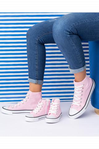 Unisex Bebek Uzun Spor Ayakkabı Roma Pembe (20-40)