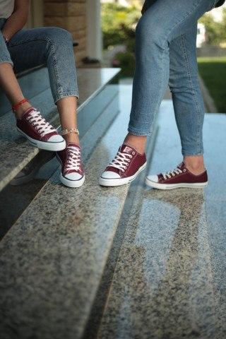 Unisex Ayakkabı - Bordo