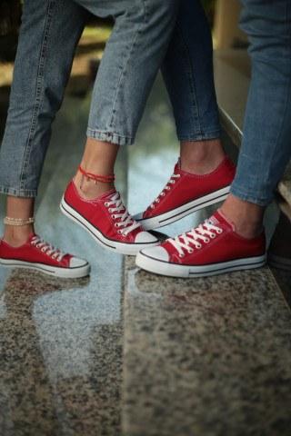 Unisex Ayakkabı - Kırmızı