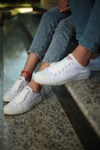 Unisex Ayakkabı - Tam Beyaz
